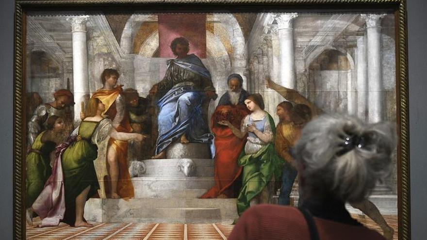 Londres acoge la primera exposición conjunta de Miguel Ángel y Sebastiano