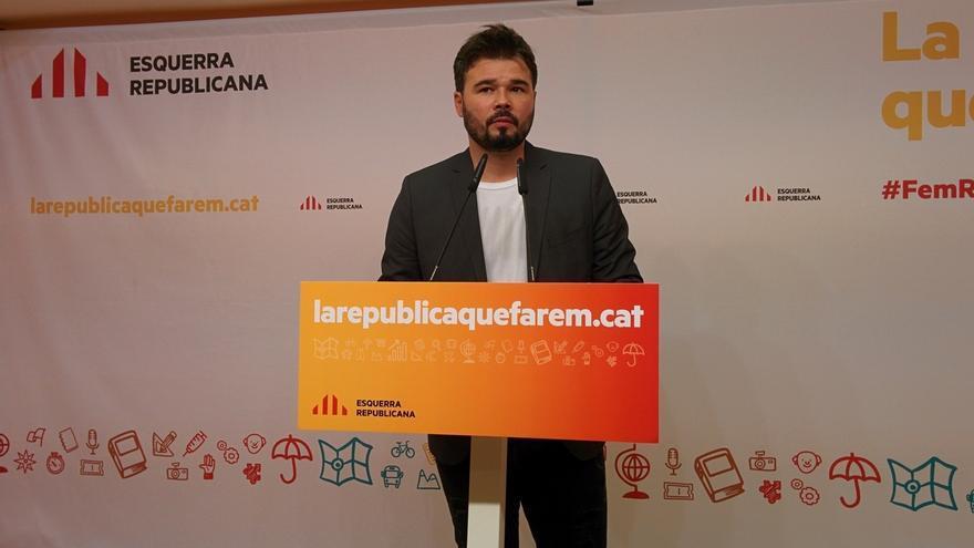 """ERC reclama claridad a los 'comuns' con el referéndum y que no pidan """"imposibles"""" para apoyarlo"""