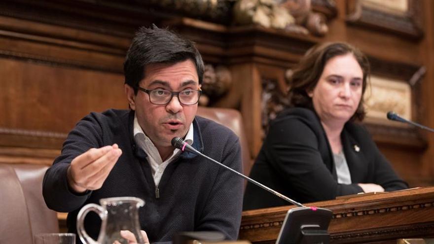 Pisarello pide a Millo preocuparse por sentencia del TEDH y no por retrato Rey