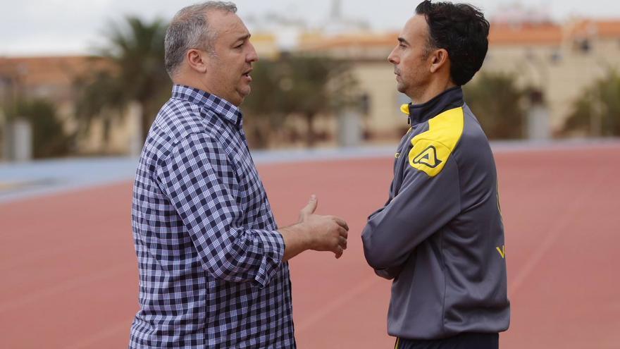 Miguel Ángel Ramírez y Paquito Ortiz