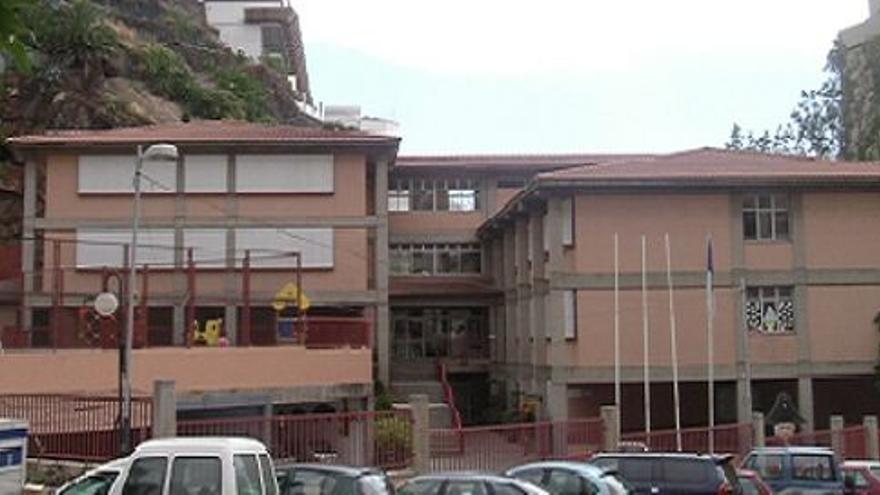 Colegio Gabriel Duque de Santa Cruz de La Palma.