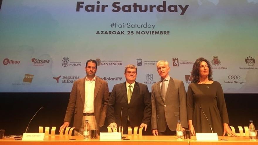 Bilbao será una de las siete ciudades oficiales que participarán en el movimiento cultural Fair Saturday 2017