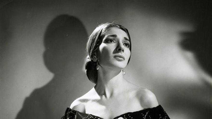 La soprano greco-americana, María Callas