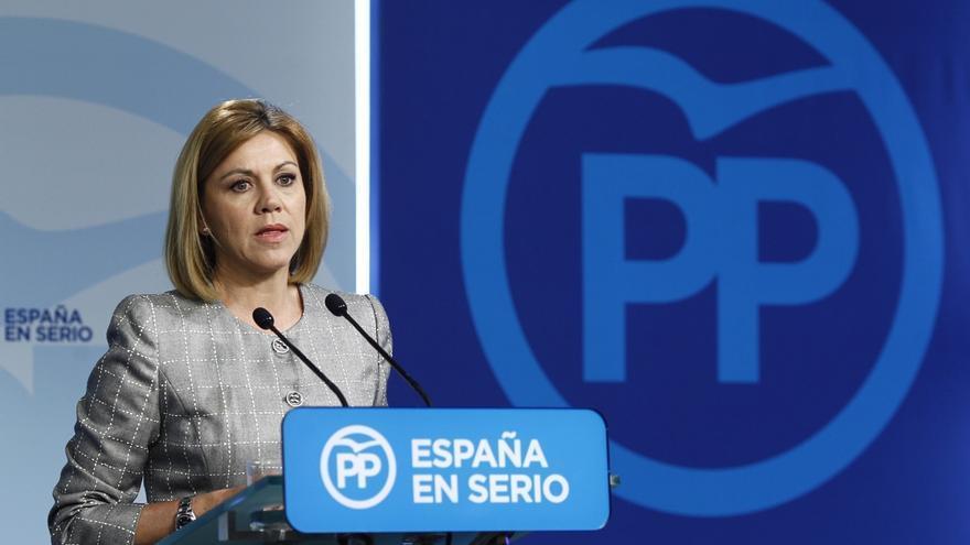 Cospedal dice que desconoce los datos fiscales de la mujer de Cañete y se niega a hacer comentarios