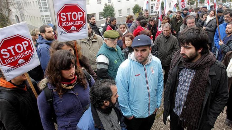 Stop Desahucios denuncia la muerte de un hombre que iban a desalojar en Zaragoza