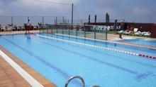 En la imagen, las instalaciones de la piscina de Puntagorda.