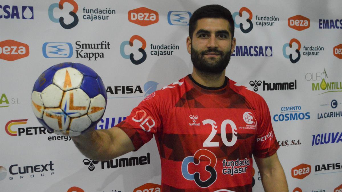 Ángel Povedano, nuevo jugador del Cajasur CBM