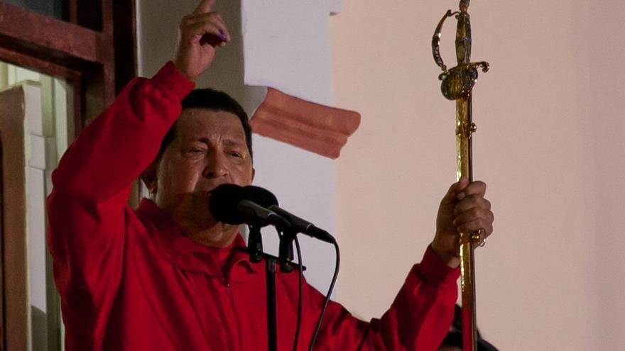 El venezolano Chávez logra su tercera reelección con el 54,42 por ciento de los votos