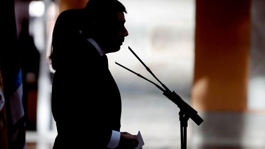 El presidente madrileño, Ignacio González, y la alcaldesa, Ana Botella, en octubre pasado. / madrid.org