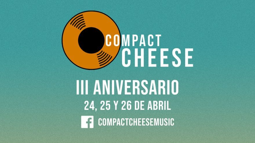 Compact Cheese Music cumple tres años