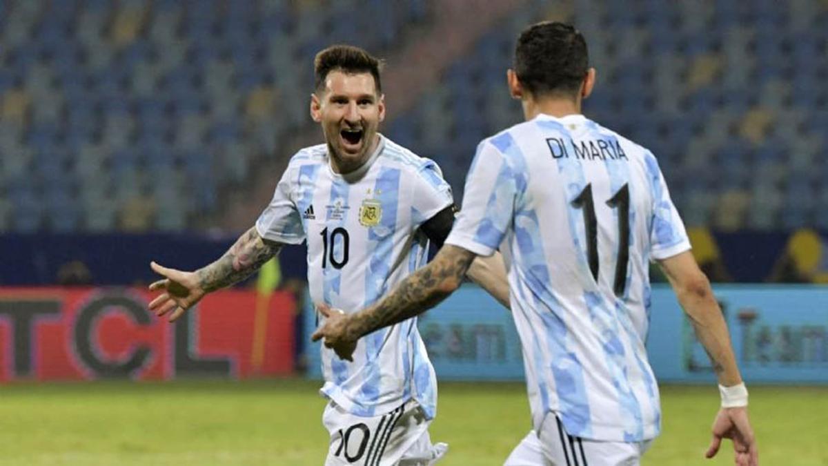 """""""Cuando salimos campeones no lo podía creer. Me parecía imposible"""", reconoció el capitán argentino. ."""