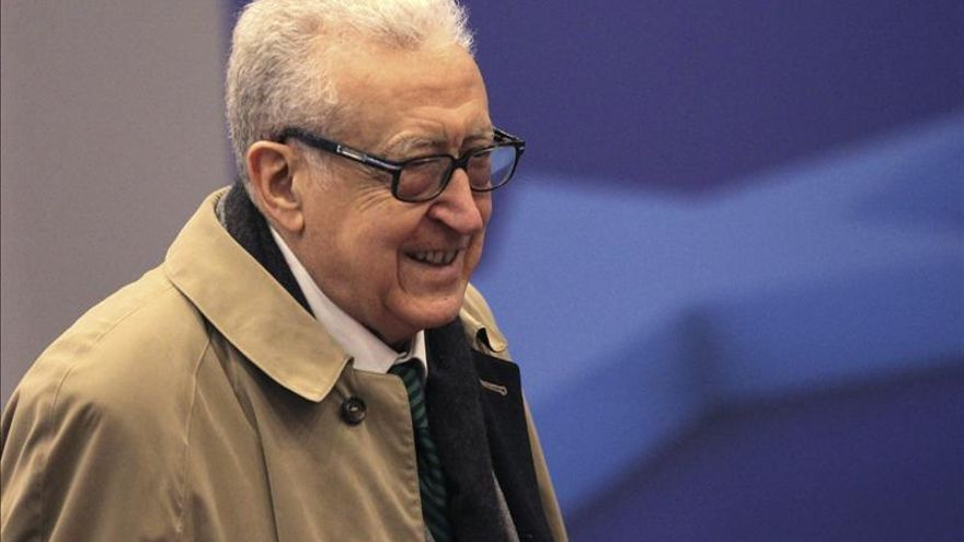 """Brahimi celebra la """"esperanzadora"""" propuesta de Rusia y EE.UU. sobre Siria"""