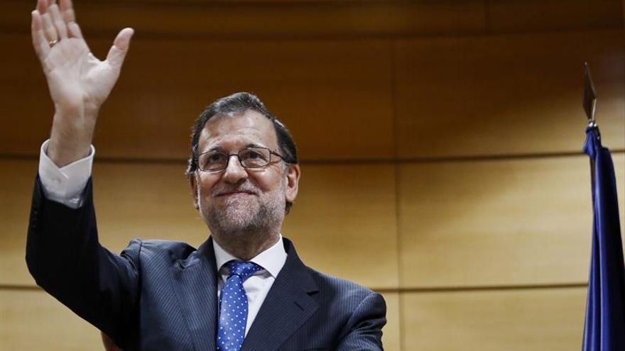 Rajoy pide a Podemos que se sume a aportar ideas para garantizar las pensiones