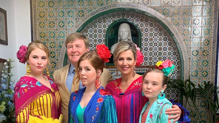 Felicitación navideña de la familia real de los Países Bajos