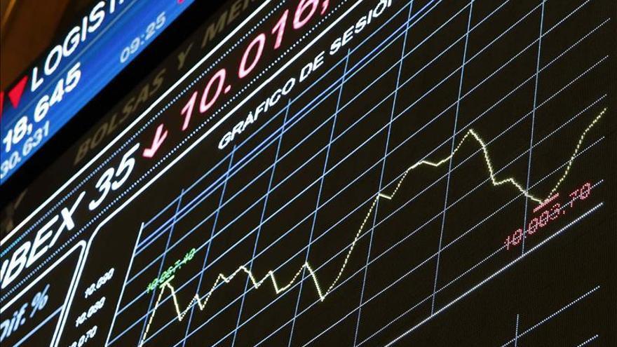 La bolsa española abre con pérdidas y el IBEX cede un 0,75 por ciento