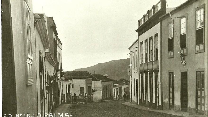 Lluvias en Aridane (1919-1924)