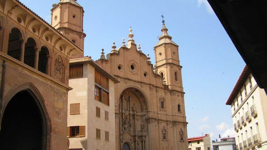 Torres de Santa María, una de las muchas joyas de Alcañiz. Manel Zaera