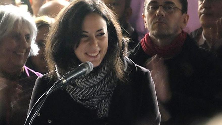 Isabel Franco, diputada de Unidos Podemos en el Congreso.