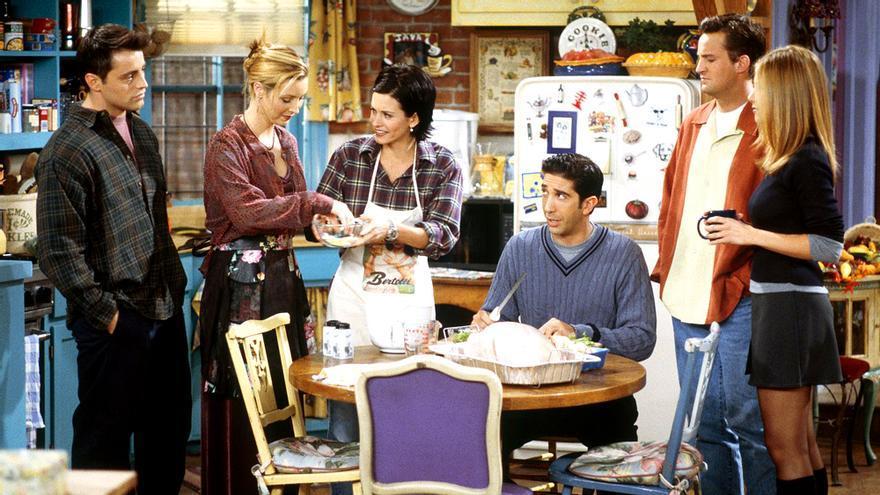 El elenco de 'Friends' reunidos en el apartamento de Monica