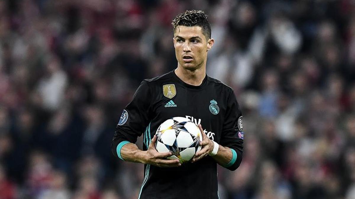 Cristiano Ronaldo en una imagen de archivo (2018)