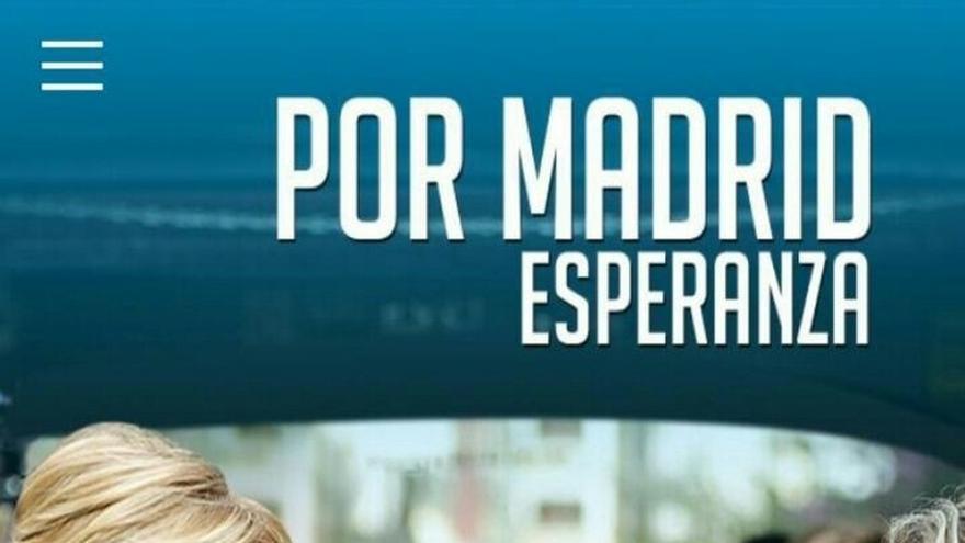 """Aguirre presenta su aplicación, que ella habría querido llamar 'Espe', para poder """"vivir en directo"""" su campaña"""