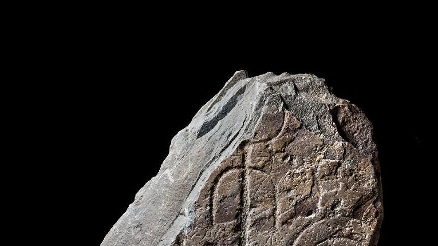 Estela encontrada en La Estrella (Toledo)