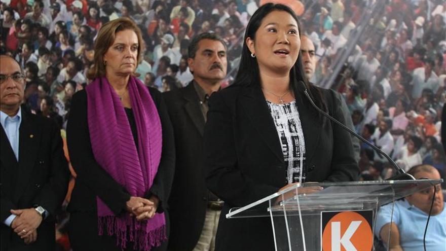 Keiko Fujimori se mantiene primera en intención de voto para comicios en Perú