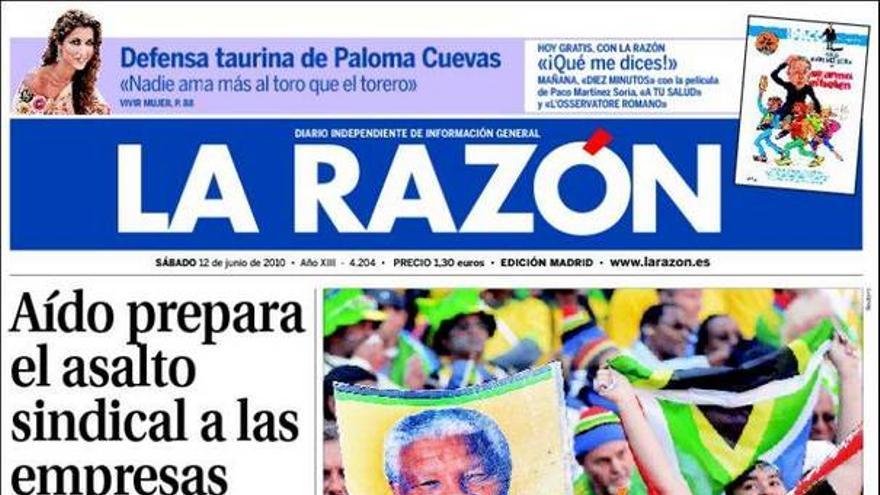 De las portadas del día (12/06/2010) #9