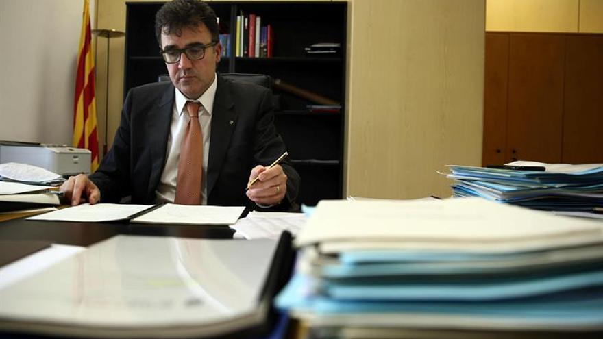 """Lluís Salvadó guardaba un informe sobre """"la secesión y la integración en la UE"""""""