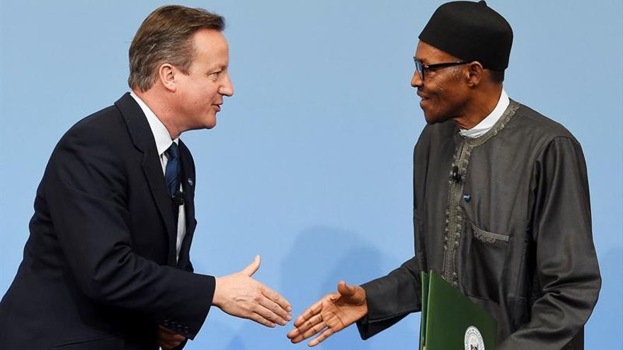 Reino Unido ofrece a Nigeria 50 millones de euros para combatir a Boko Haram