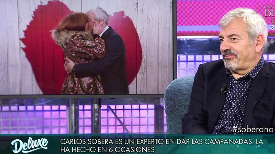"""Carlos Sobera contó en Deluxe su experiencia en las Campanadas: """"La primera vez lo pasé mal"""""""