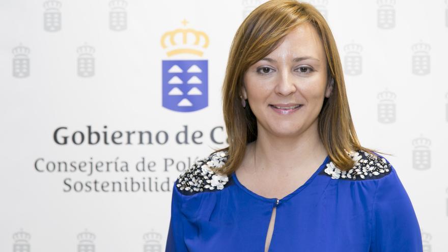Nieves Lady Barreto es consejera de Política Territorial.