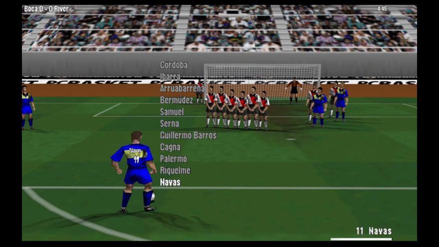 Modo simulación de 'PC Fútbol 6.0'