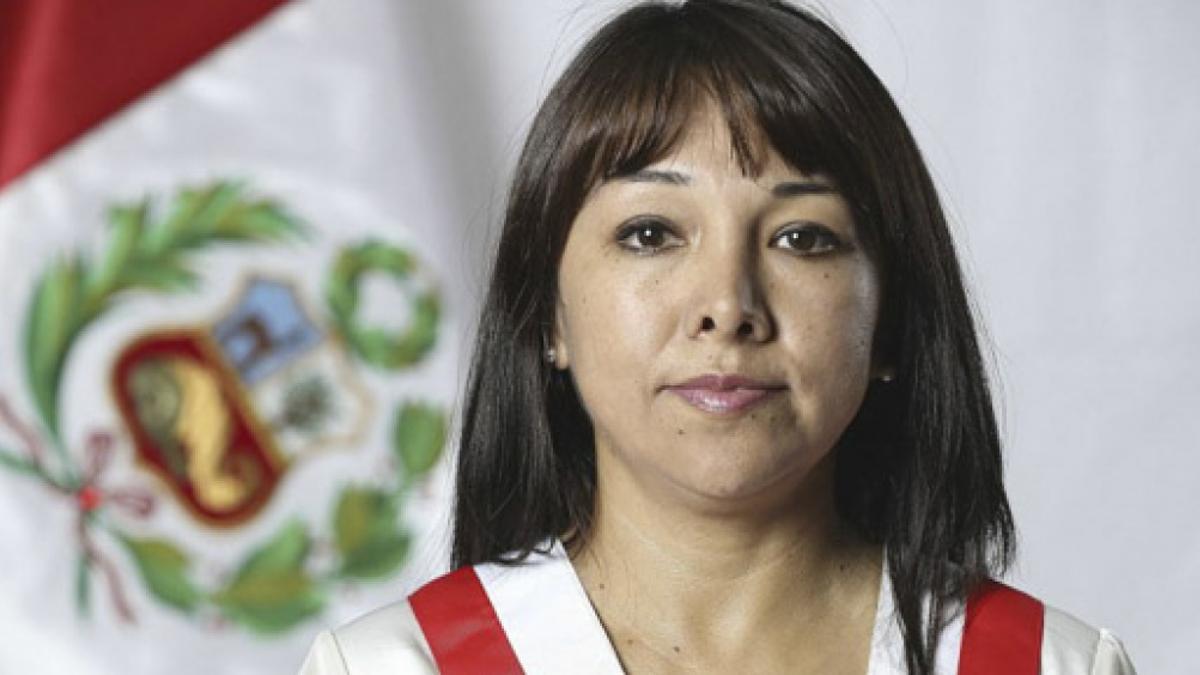 Mirtha Vásquez es la nueva primera ministra de Perú