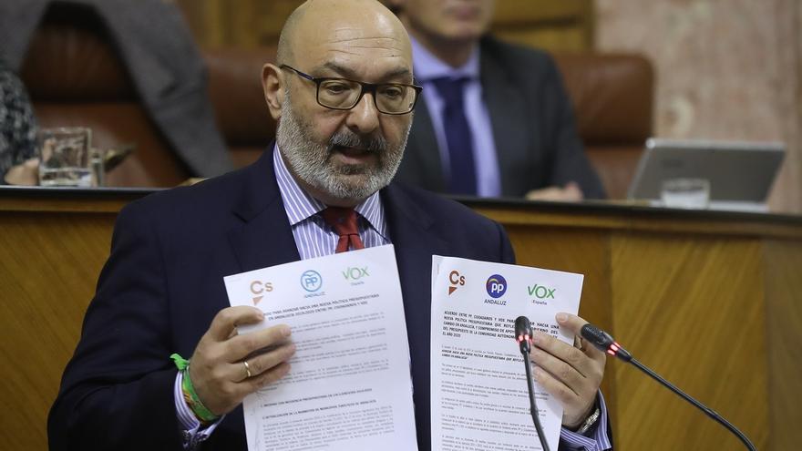 Vox pide a PP y Cs no poner en riesgo el consenso político e insiste en exigir el pin parental y la Ley de Concordia