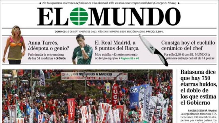 De las portadas del día (16/09/2012) #7