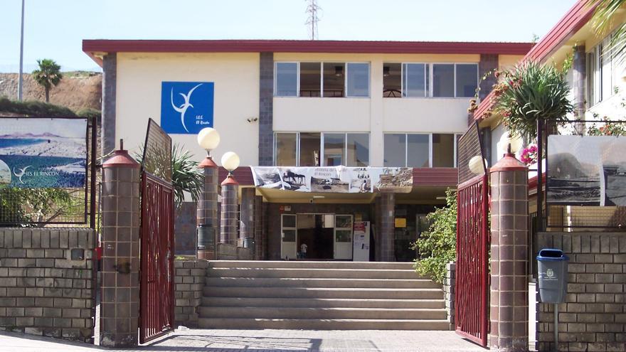 Instituto de Enseñanza Secundaria El Rincón, en Las Palmas de Gran Canaria.