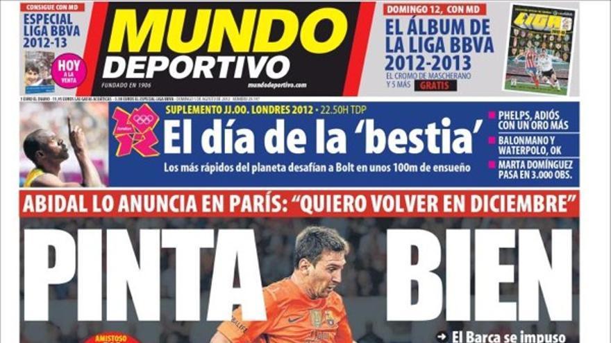 De las portadas del día (5/08/2012) #14