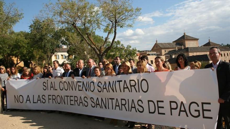 El PP se manifiesta por mantener el convenio sanitario con Madrid