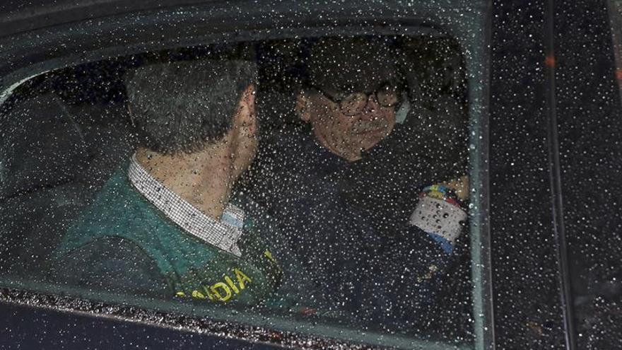 En libertad el yerno de Conde mientras el resto en las dependencias de la Guardia Civil
