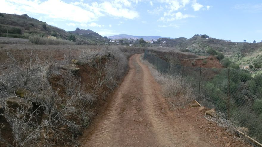 Camino de Los Tanques a La Palma.