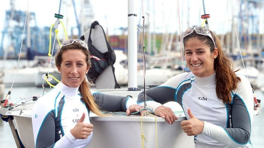 Ángela Pumariega y Patricia Cantero