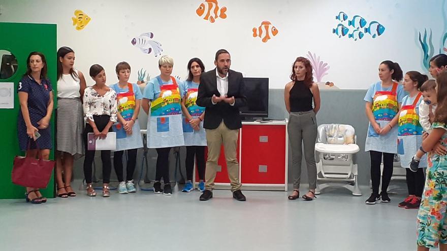 Rubens Ascanio, en la apertura del curso 2019 de las escuelas infantiles