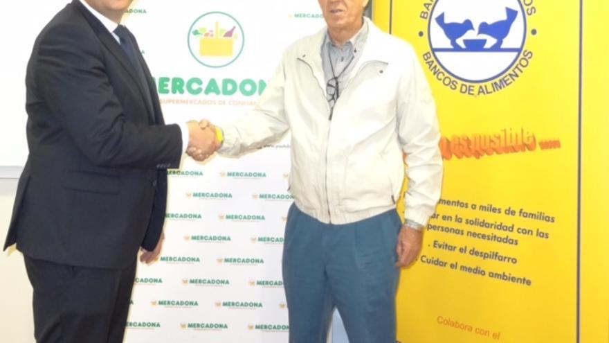 Convenio de Mercadona con el Banco de Alimentos de Las Palmas