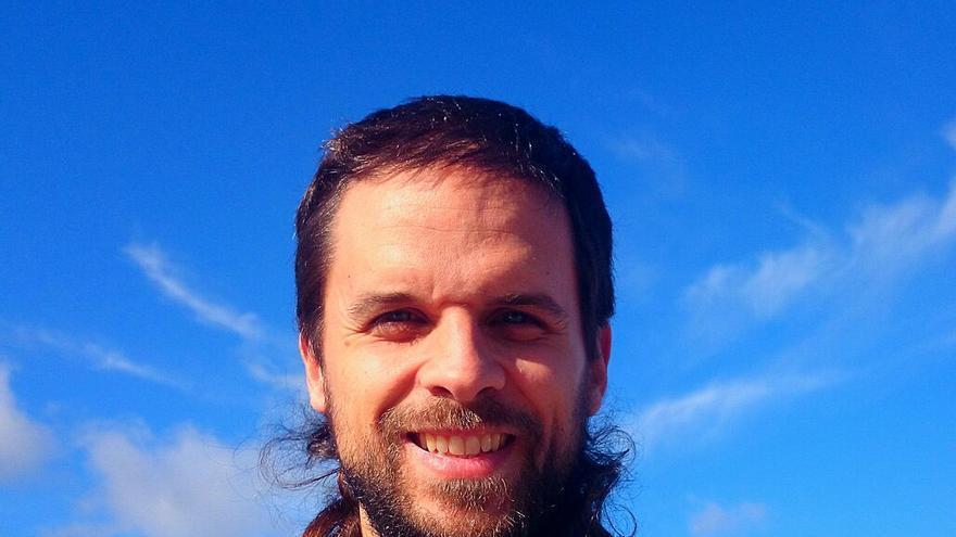 Álvaro Jaén, secretario regional de Podemos Extremadura