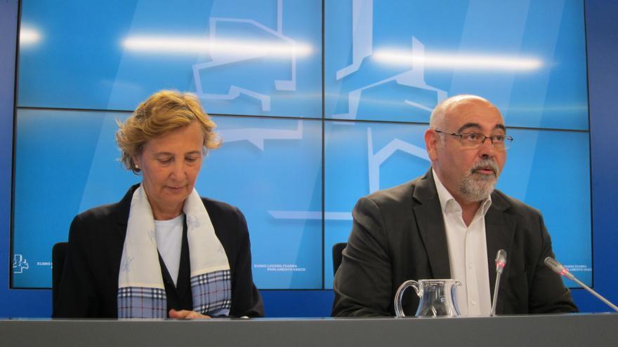 """Pastor (PSE) dice que Patxi López """"no se está postulando, hoy por hoy"""", como candidato a secretario general del PSOE"""