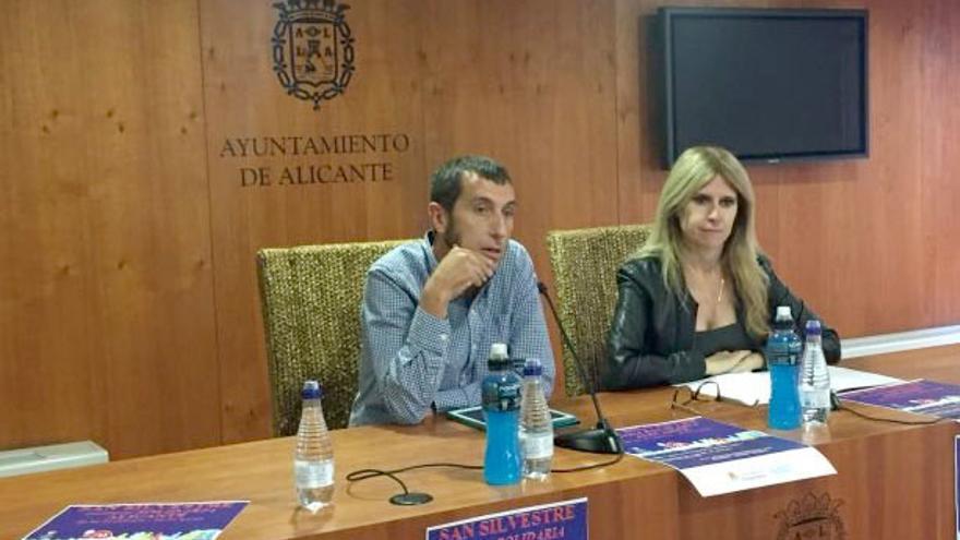 La delegada alicantina de Deportes, Eva Montesinos (PSOE), en rueda de prensa