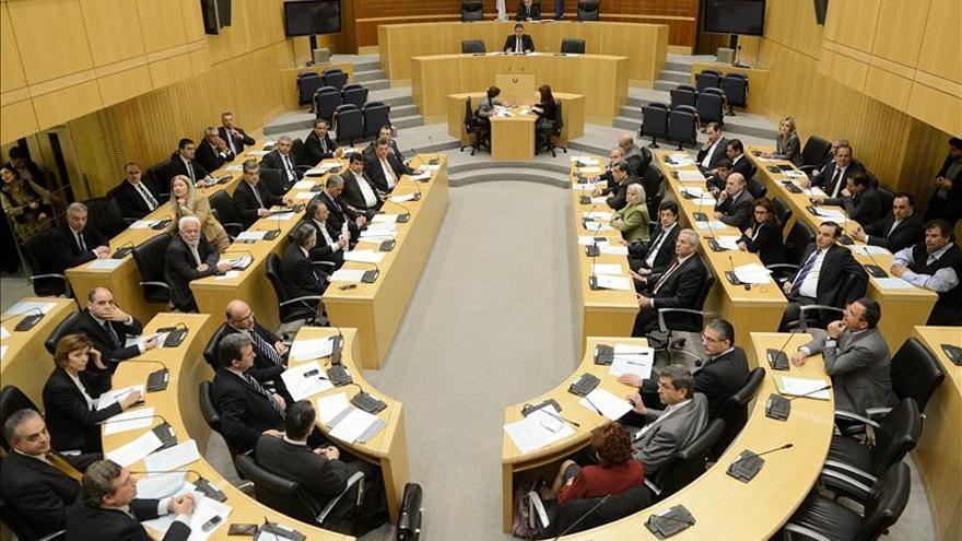 El Parlamento chipriota