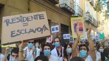 Los MIR de un hospital privatizado de Madrid ya tienen mejores condiciones laborales que los residentes de la pública en huelga