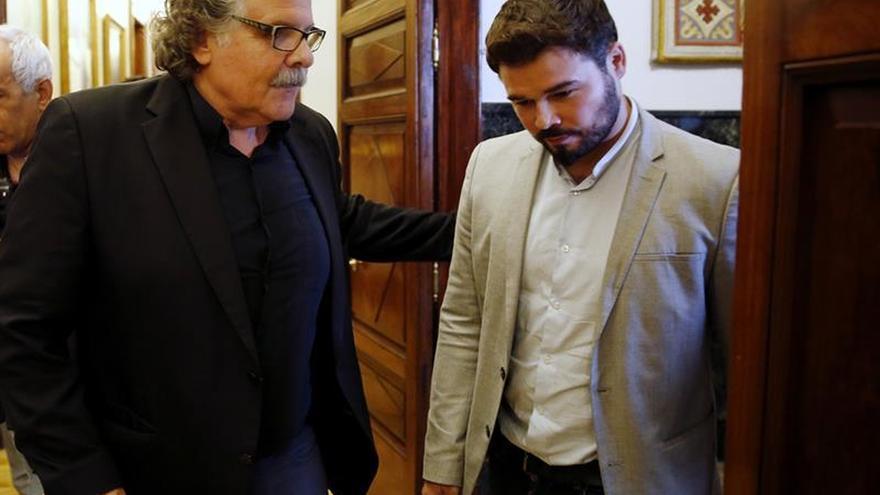 Tardá, irónico con Sánchez: Ánimo Pedro, sigue pedaleando hasta el referéndum
